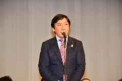 菅原一秀経済産業副大臣による祝辞