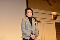 橋本聖子・自転車競技連盟会長による祝辞