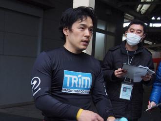 三谷竜生選手