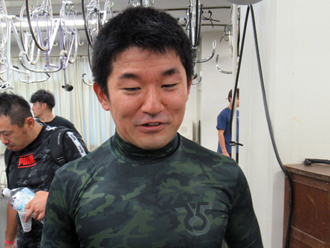 田中晴基選手