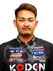 尾崎 悠生選手の顔写真